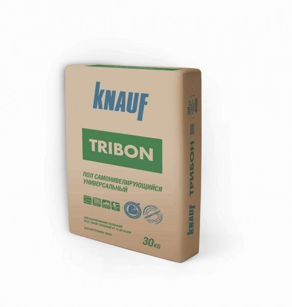 Смесь самовыравнивающаяся стяжка Трибон 20кг Кнауф - купить в Ново-Токсово, отзывы. ТД «Вимос»